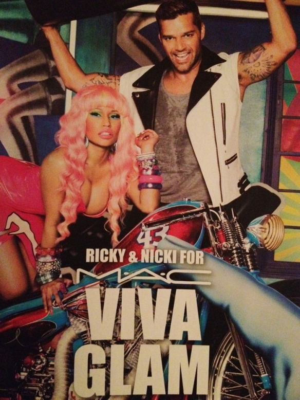 RICKY & NICKI FOR MAC VIVA GLAM